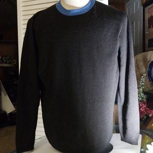 Hugo Boss XL Black Wool Sweater